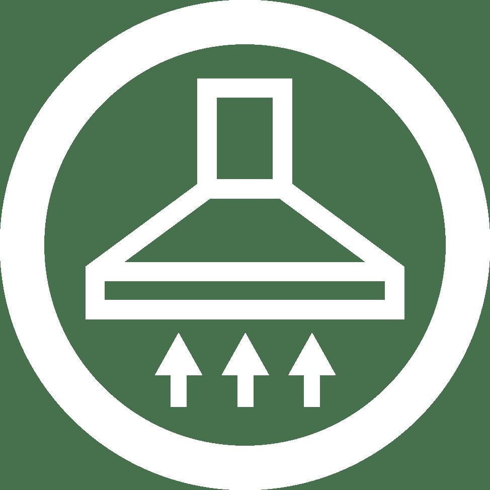 icon nettoyage de hotte France Hygiène Ventilation