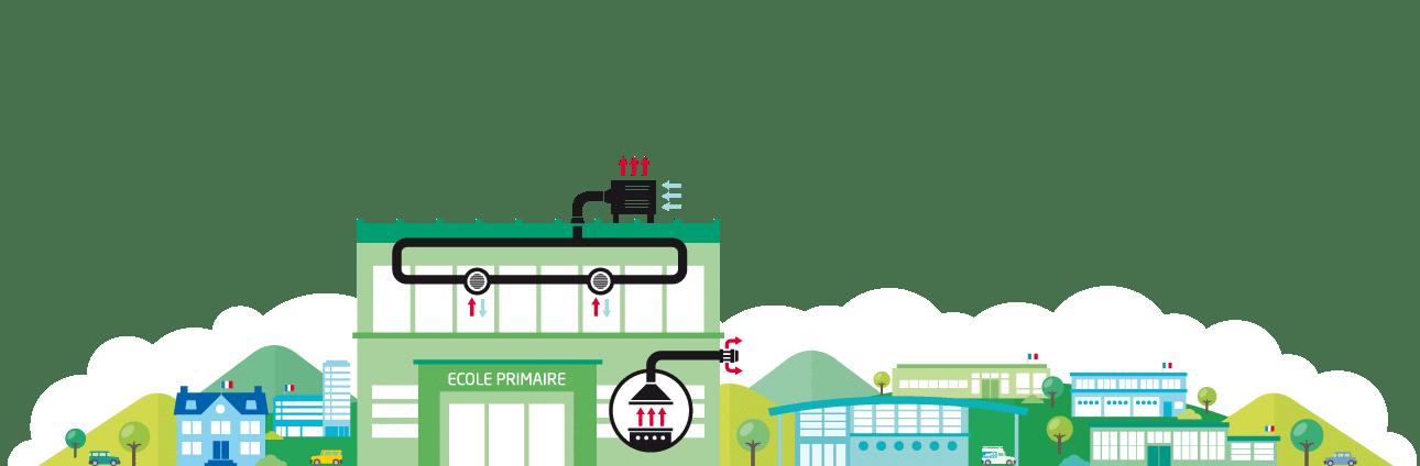 entretien hotte ecoles France Hygiène Ventilation