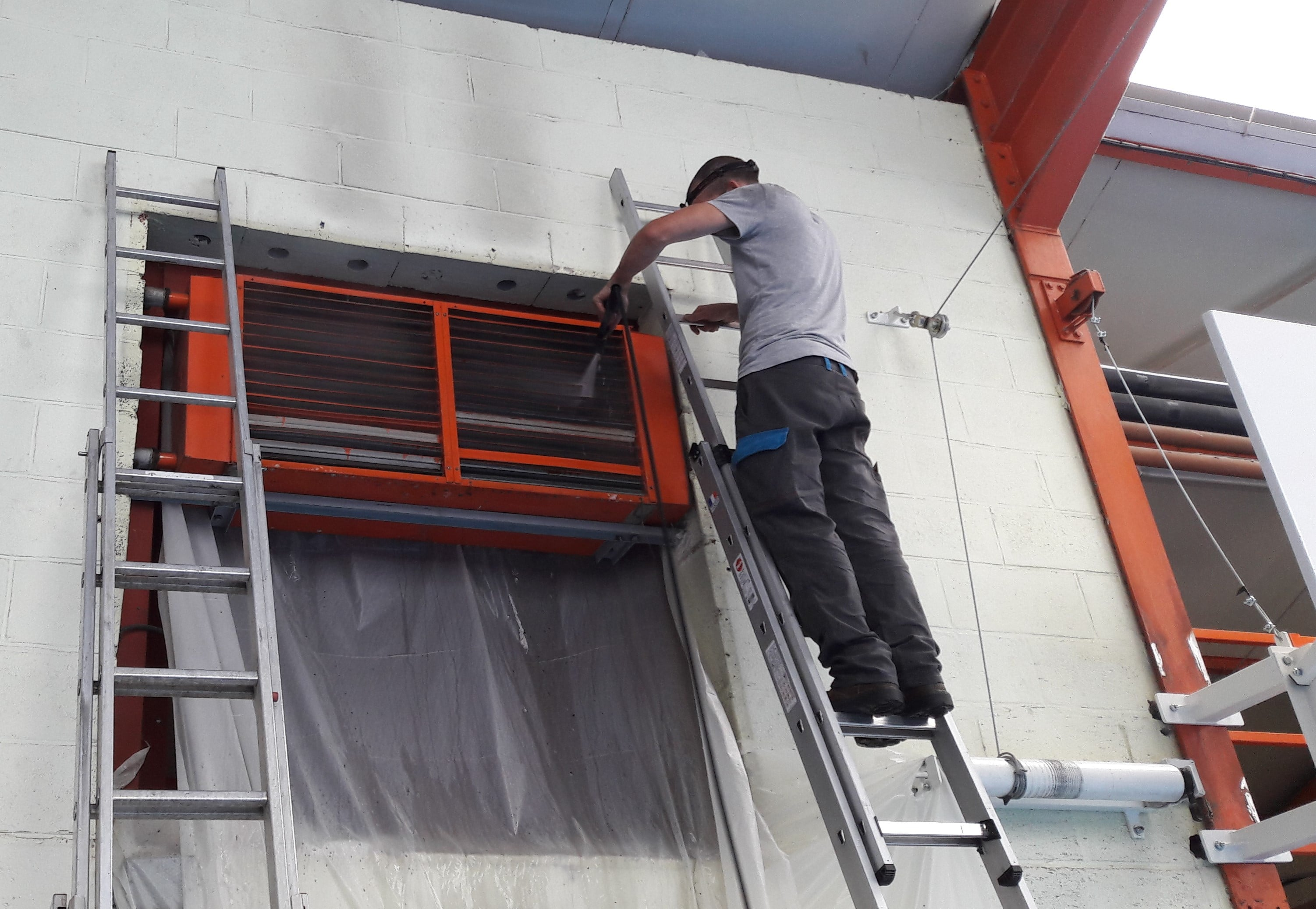 entretien aérotherme industrie