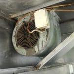 nettoyage de moteur extracteur d'air