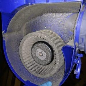 moteur sale nettoyage de vmc