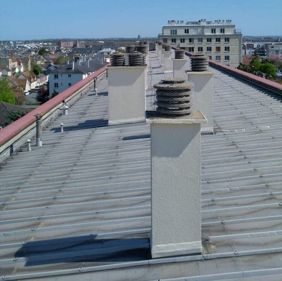 Nettoyage de ventilation naturelle immeuble collectifs