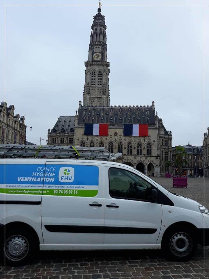 Entretien de hotte à Arras - France Hygiène Ventilation