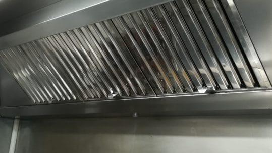 Nettoyage filtre hotte professionnelle