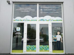 Agence FHV Caen entretien de ventilation