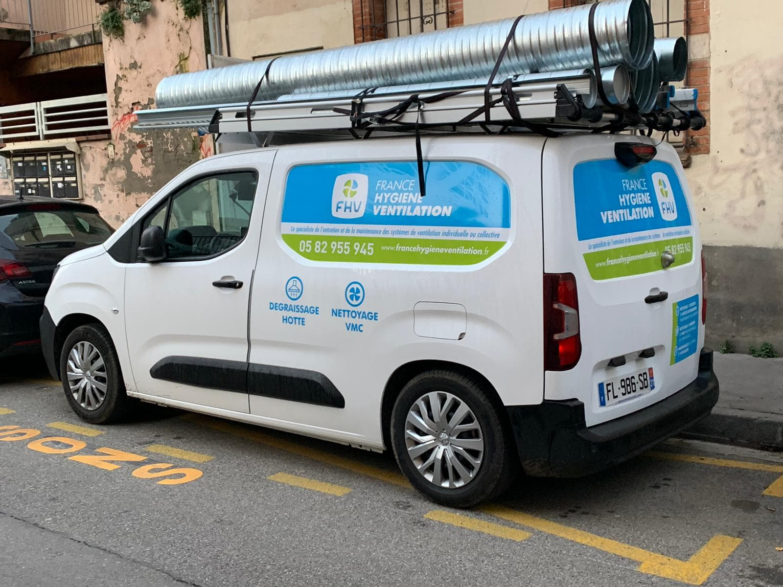 Camionnette FHV Agence Toulouse