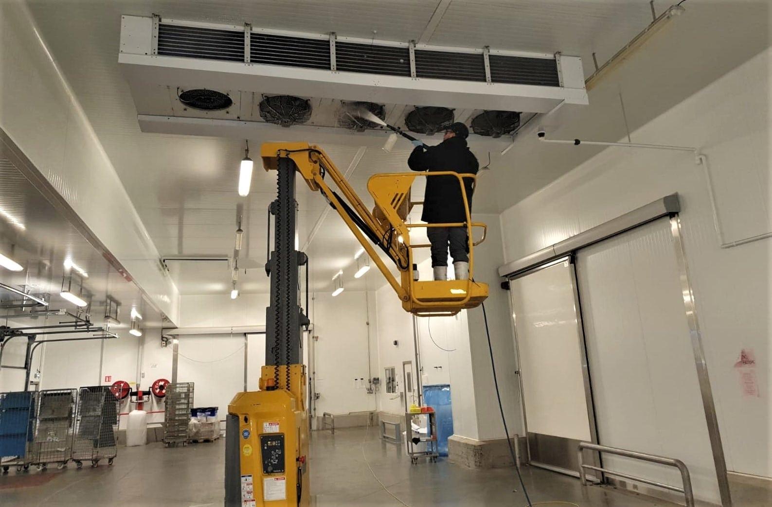 Nettoyage système de refroidissement adiabatique