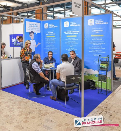 Forum Franchise 2019 France Hygiène Ventilation ©tekoaphotos
