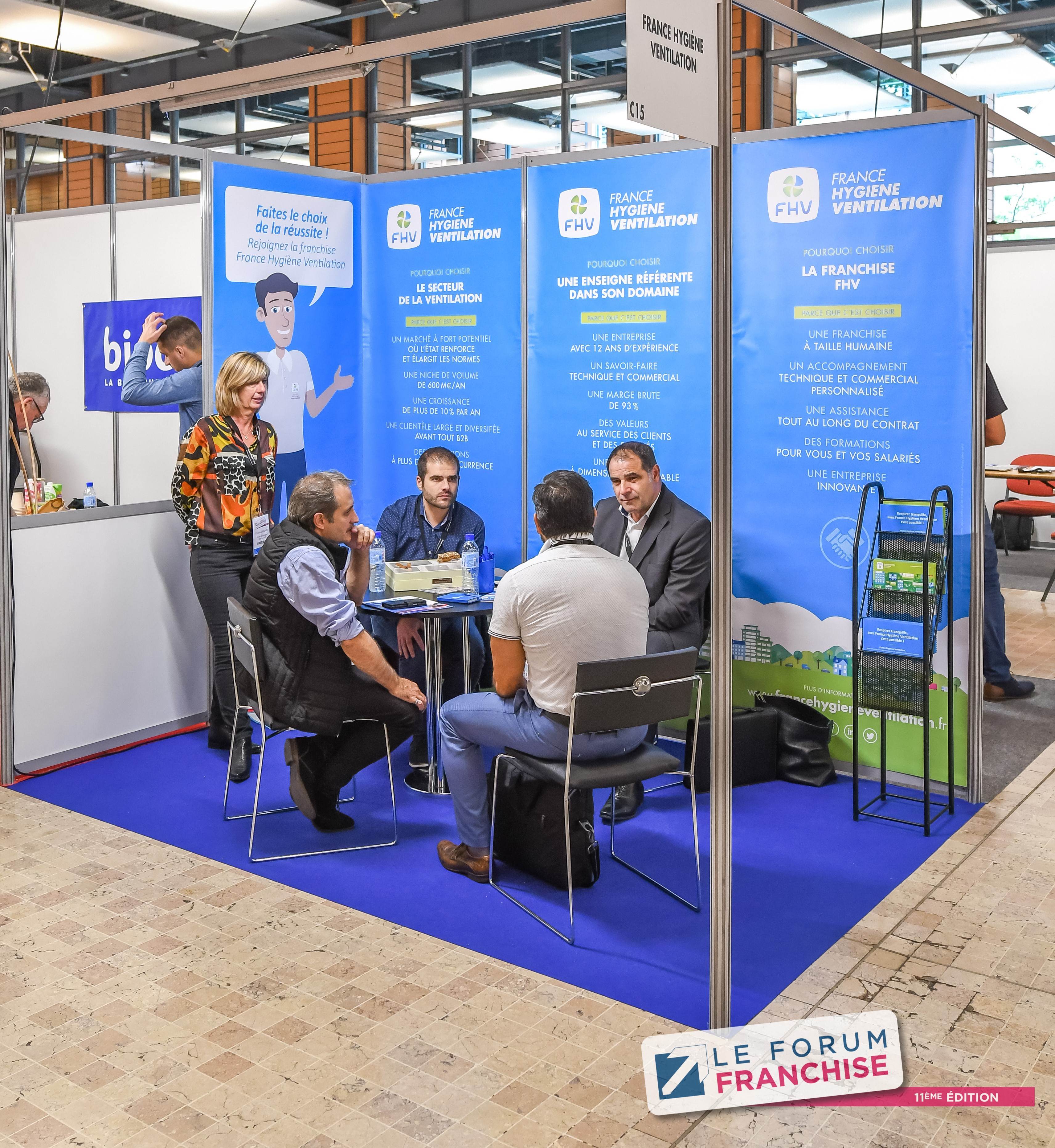 Forum Franchise 2019 France Hygiène Ventilation ©tekoaphotos