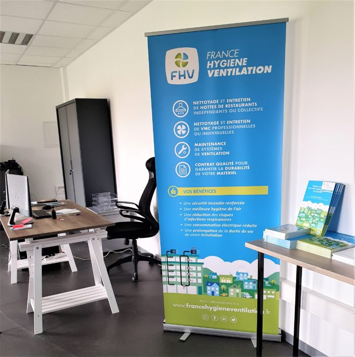 Agence FHV Niort intérieur bureau